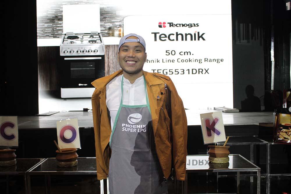 The grand prize winner of Tecnogas Tecknik Cooking Range