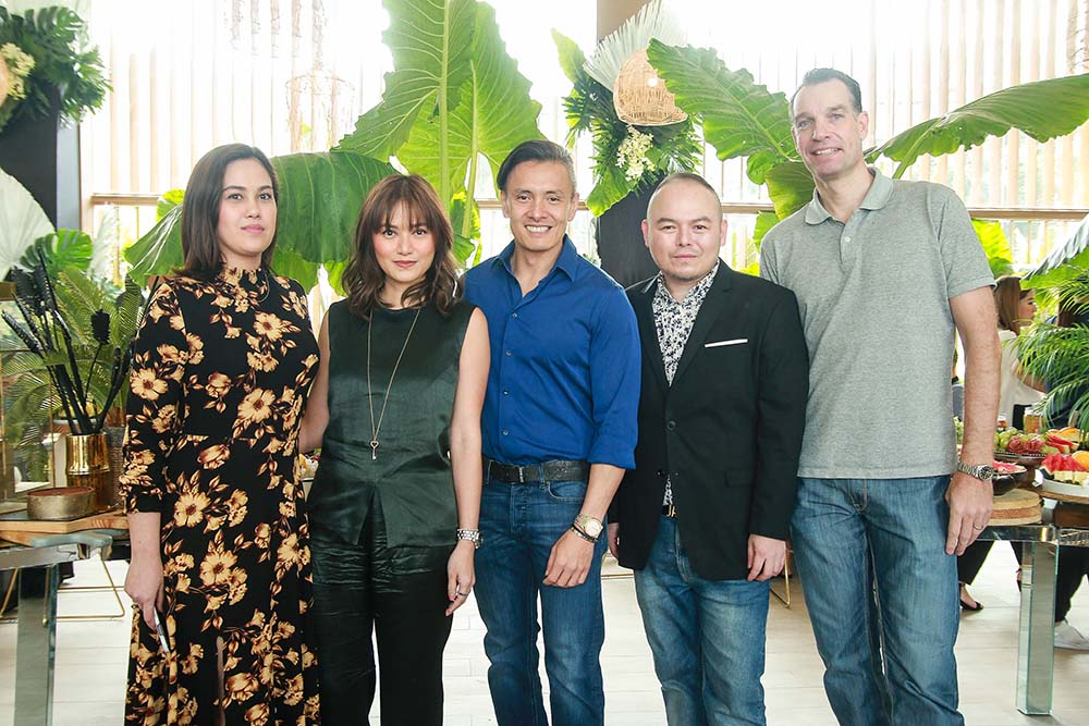 Lana Faith Johnson, Kat Cruz, Victor Consunji, Enrique Cruz and Ralph Van Miert