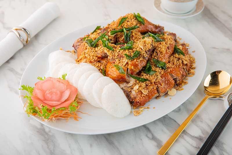 Crystal Dragon - Crispy Roasted Chicken Fried Garlic