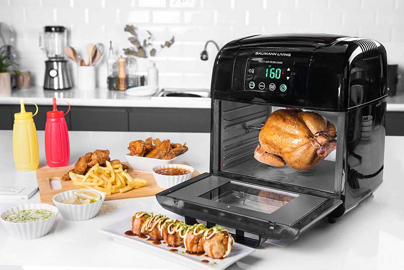 Multi Air Fryer Oven With Rotisserie, P6995 (1) copy