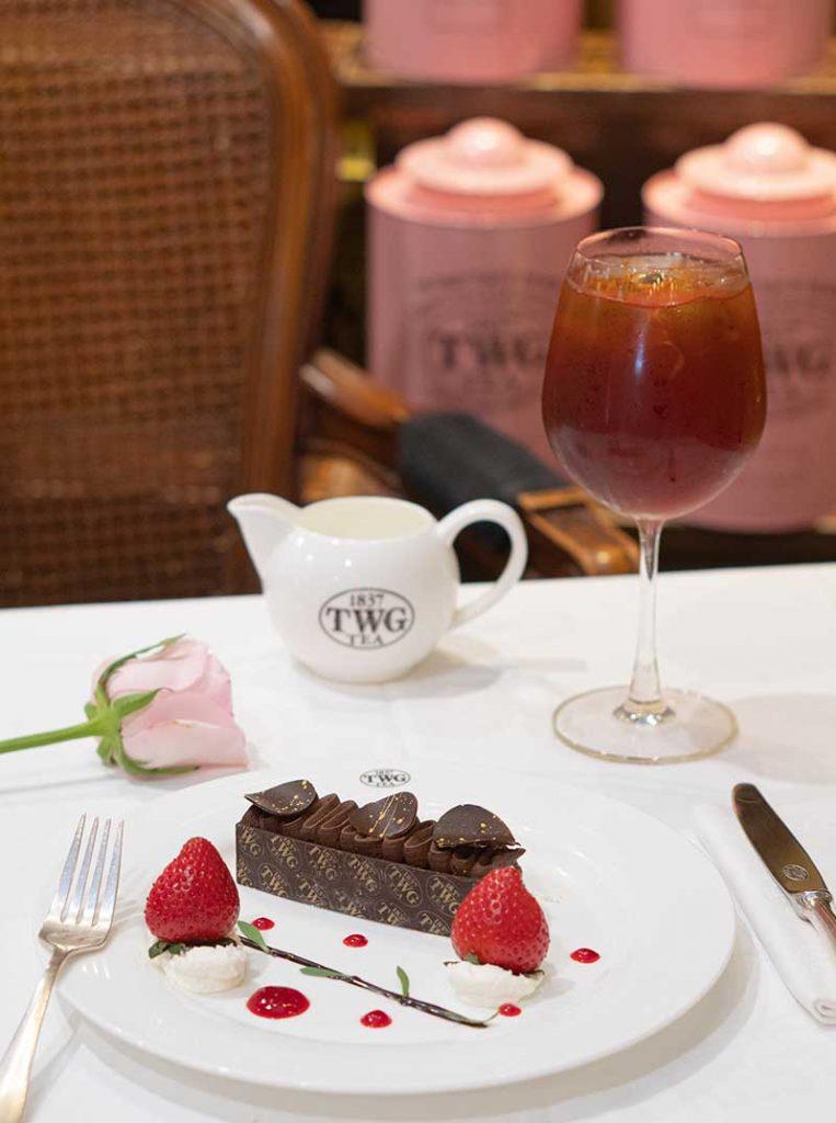 TWG Tea's Valentine's Day Set Menu Dessert