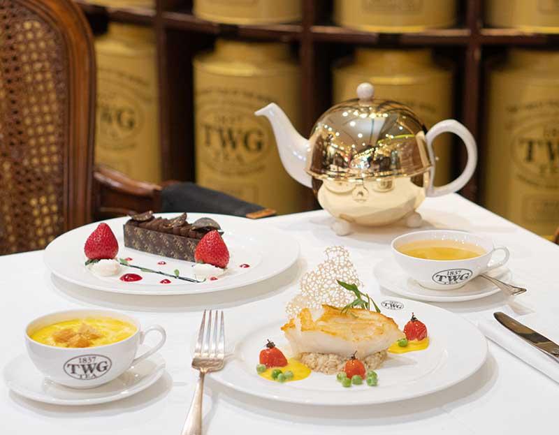 TWG Tea's Valentine's Day Set Menu (Main Course & Dessert)