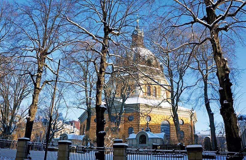 Hedvig Eleonora Church, Stockholm copy