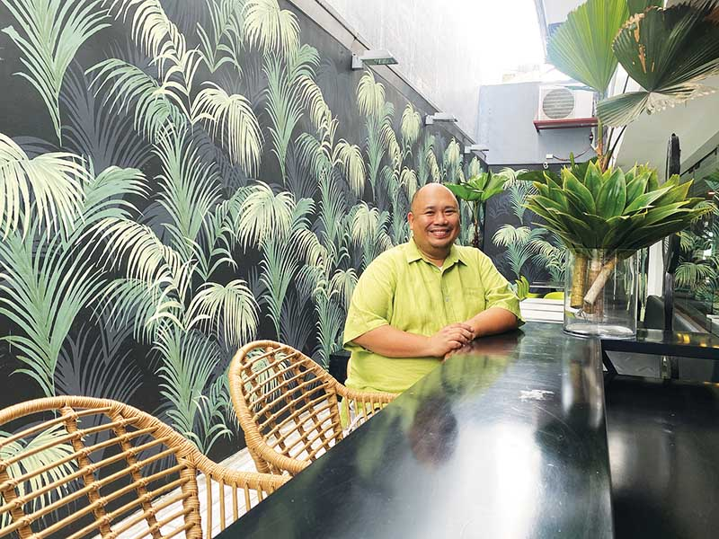 Pandan Asian Cafe owner and chef Tatung Sarthou.