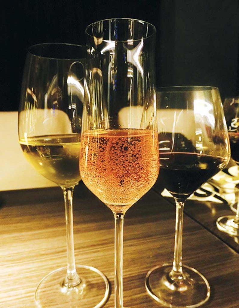 (L-R) Woomera Sauvignon Blanc, Woomera Rose, and Woomera Cabernet Merlot