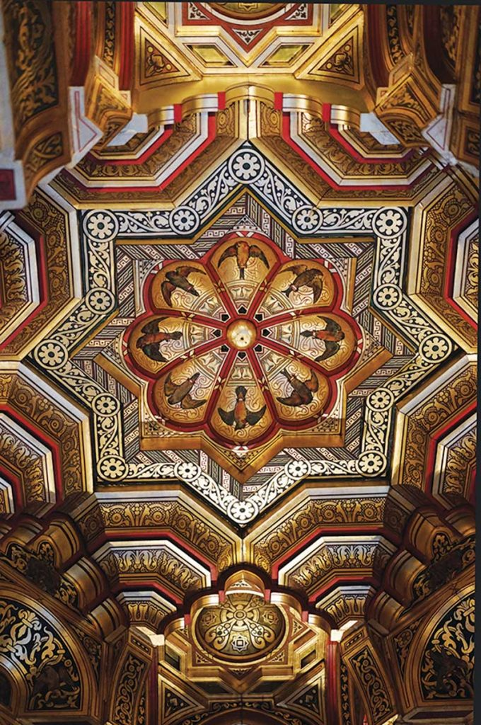 Ceiling Detail, Cardiff Castle
