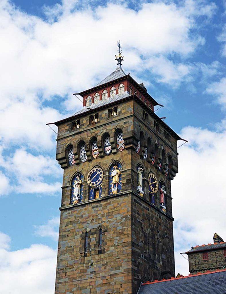 Clock Tower, Cardiff Castle