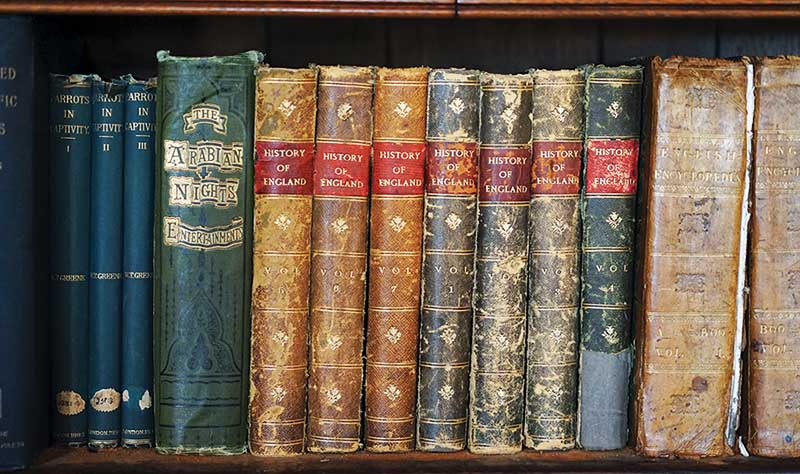 History of England Books, Cardiff Castle copy