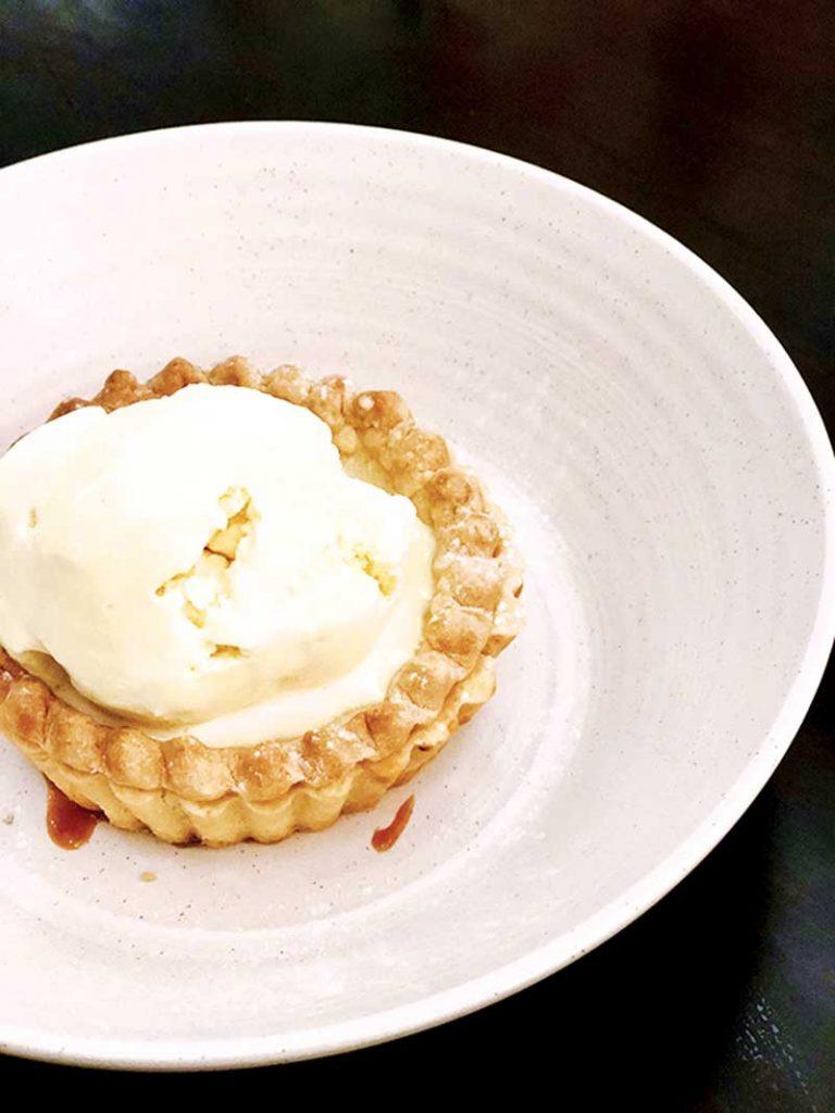 Lemon Country Pie a la Mode