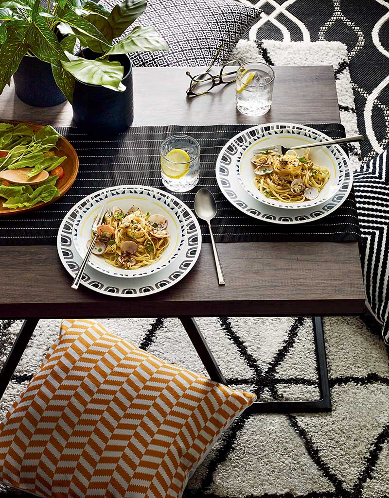 Stay home and create a new dining experience in the living room with your favourite family dish.