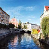 Triple Bridge across River Ljubljanica copy