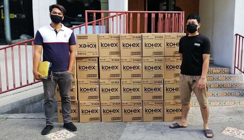 Kotex also tapped Frontline Feeders Philippines to deliver sanitary pads for female frontline medical workers in public hospitals nationwide.